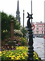 NS3322 : Pillar and post, Main Street, Ayr by Rose and Trev Clough