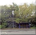 SE4005 : Solar powered light to bus shelter. by Steve  Fareham