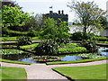 SX4268 : Garden Pond at Cotehele House by Brian