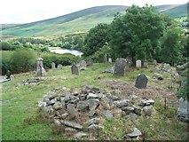 O1021 : St. Anne's Cemetery Near Castlekelly by JP