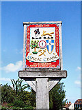 TQ9741 : Great Chart Village Sign by Dave Skinner