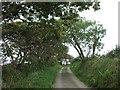 SX1855 : Lane to Talvan by Rob Farrow