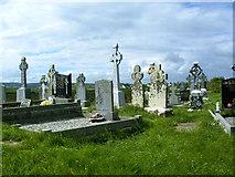 R0990 : Moymore graveyard by Russ Davies