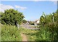 SE4402 : End of the bridleway known as Ingsfield lane. by Steve  Fareham
