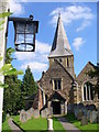 TQ0747 : Shere Parish Church by Colin Smith
