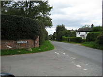 SJ7145 : Junction of Hunterson Road and Dingle Lane by Peter Fleming