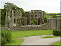 NX7447 : Dundrennan Abbey by Ian Greig