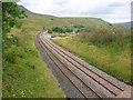 SD7797 : Railway line (northwards) by George Robinson