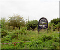 SE3603 : Sign on Dove Valley Trail. by Steve  Fareham