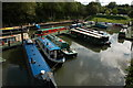 ST7165 : Newbridge Marina by Philip Halling
