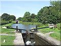 SJ9065 : Bosley Lock No10, Macclesfield Canal, Cheshire by Roger  Kidd