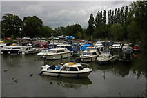 ST6668 : Port Avon Marina by Philip Halling