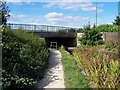SK0402 : Walsall Wood Bridge, Daw End Canal by Geoff Pick