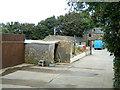 SW9651 : Trewithen Farm buildings by Gareth