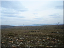 NJ1142 : Turbines on Carn Shalag by Roger Boston