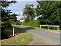 TL1276 : Towards Salome Lodge Cottages by Andrew Tatlow