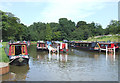 SJ8457 : Sherborne Wharf Marina, Kent Green, Cheshire by Roger  Kidd