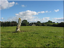 J0003 : Standing stone at Rathiddy by Kieran Campbell