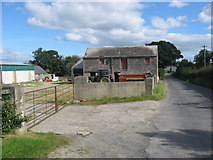 J0302 : Farm building at Dunmahon, Co. Louth by Kieran Campbell
