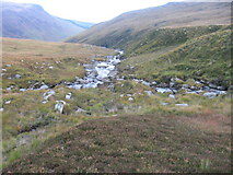 NR9738 : Garbh Allt towards Glen Rosa by Chris Wimbush
