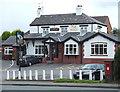 SJ8661 : The Moss Inn, Canal Street, Congleton by Roger  Kidd