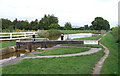 SJ7858 : Trent and Mersey Canal at Pierpoint Lock No 55, Hassall Green, Cheshire by Roger  Kidd