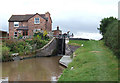 SJ6558 : Minshull Lock and Cottage, Shropshire Union Canal, Cheshire by Roger  Kidd