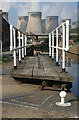 SE4824 : Ferrybridge Lock by Alan Murray-Rust