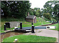 SJ6542 : Audlem Locks No 4, Shropshire Union Canal, Cheshire by Roger  Kidd