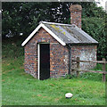SJ6542 : Lockside Building, by Audlem Lock No 4, Cheshire by Roger  Kidd