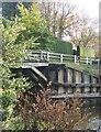 TL3490 : Footbridge, Old Nene, Benwick by Andrew Hill