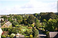 SP3433 : Hook Norton village from the brewery by S Parish