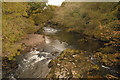 SN8414 : The upper River Tawe looking north from the roadbridge to Penwyllt by Cedwyn Davies