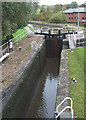 SJ8746 : Bedford Street Staircase Locks, Caldon Canal, Etruria by Roger  Kidd