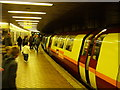 NS5566 : Underground train at Partick by Thomas Nugent