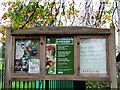 NS5667 : Children's Garden noticeboard by Thomas Nugent