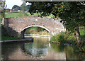 SJ9051 : Heakley Hall Bridge, Caldon Canal, Norton Green, Staffordshire by Roger  Kidd