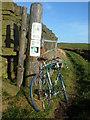 SD9805 : Sign off Burnedge Lane, Grasscroft by michael ely