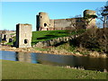 SJ0277 : Rhuddlan Castle by George Tod