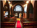 SJ5798 : St Thomas Church, Ashton-in-Makerfield, Interior by Alexander P Kapp
