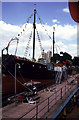 TQ3480 : SS Robin, St Katharine Docks by Chris Allen