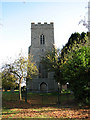 TF9718 : The tower of St Mary Magdalene's church in Old Beetley by Evelyn Simak