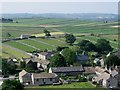 SK1675 : Litton - east end of village from Litton Edge by Dave Bevis