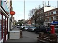 SZ0589 : Canford Cliffs: the post office and postbox № BH13 251 by Chris Downer