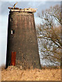 TG4405 : Stone's Drainage Mill - a closer view by Evelyn Simak