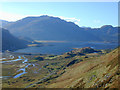 NG9521 : View towards Loch Duich, from above Ruarach by Nigel Brown