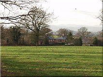 SJ4226 : Houses at Weston Lullingfields by John Haynes