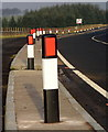 NS4948 : Bend on A77 at North Drumboy by Iain Thompson