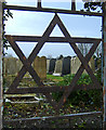 TA1329 : Jewish Cemetery (gate detail), Delhi St, Hull by Paul Harrop