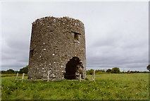 M9813 : Windmill ruin at Cloghan Beg, Co. Offaly by Kieran Campbell